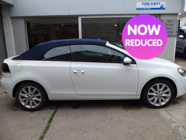 VW GOLF SE BM 1.6 TDI CONVERTIBLE | £11495