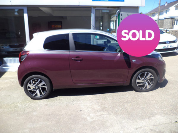 PEUGEOT 108 ALLURE 1.2 PETROL 3 DOOR | SOLD