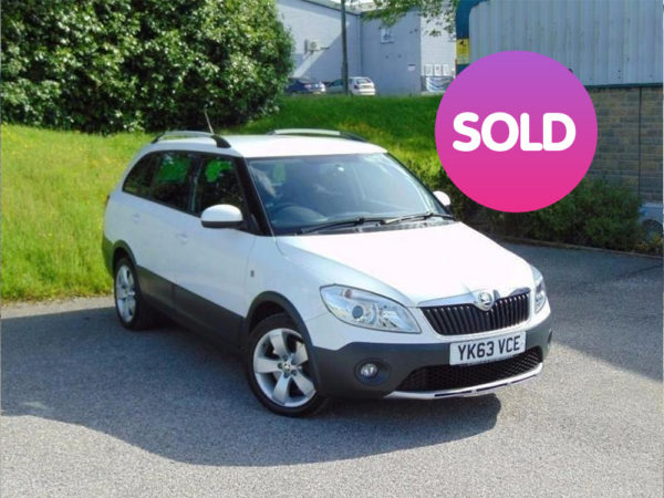 SKODA FABIA SCOUT 1.6 TDI ESTATE | SOLD